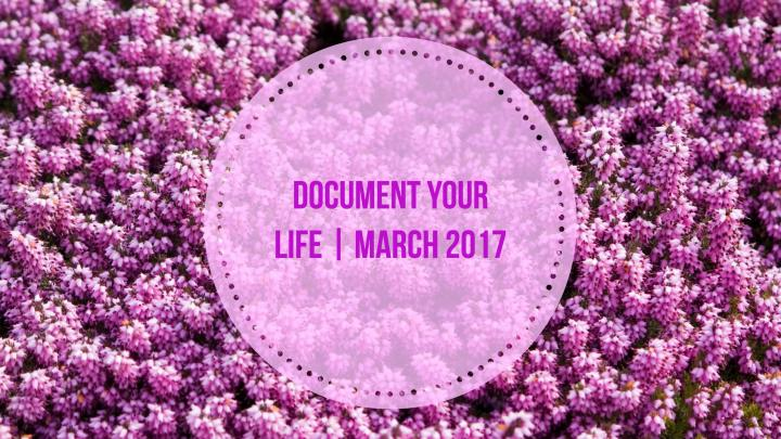Document Your Life   March2017